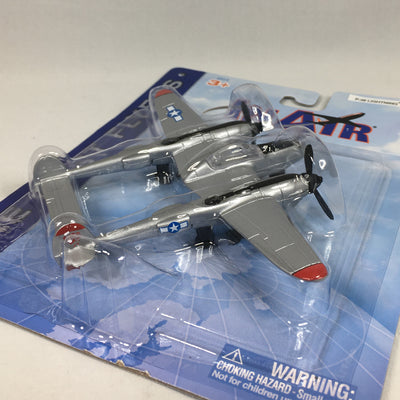 Die Cast P38 Toy Airplane