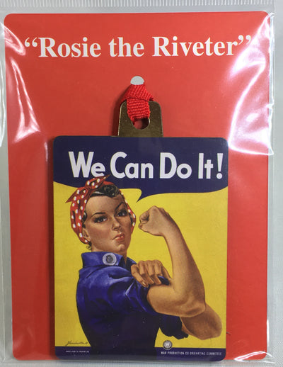 Rosie the Riveter Christmas Ornament