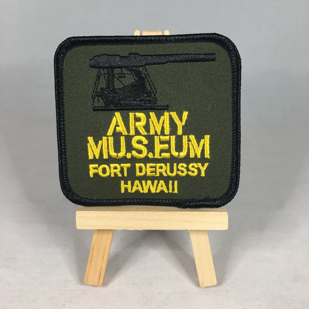 U.S. Army Museum of Hawaii Patch