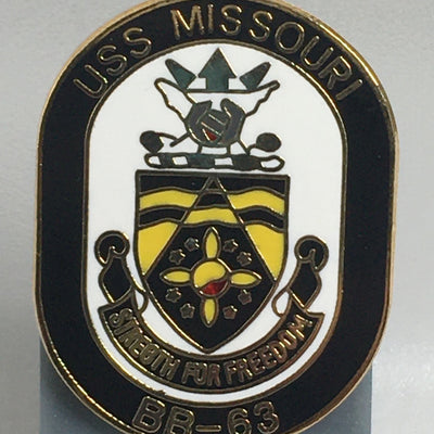 USS Missouri Pin