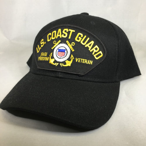 US Coast Guard Iraqi Freedom Veteran Cap