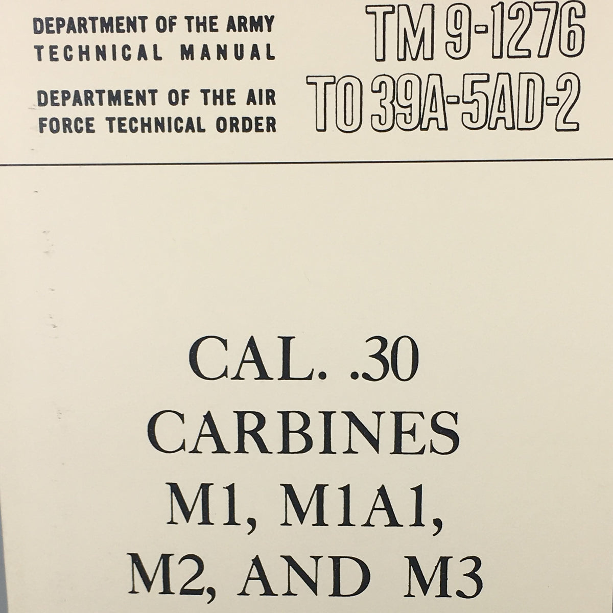 M.16A2 Training Manual - Department of the Army Technical Manual