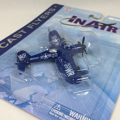 Die Cast Corsair Toy Airplane