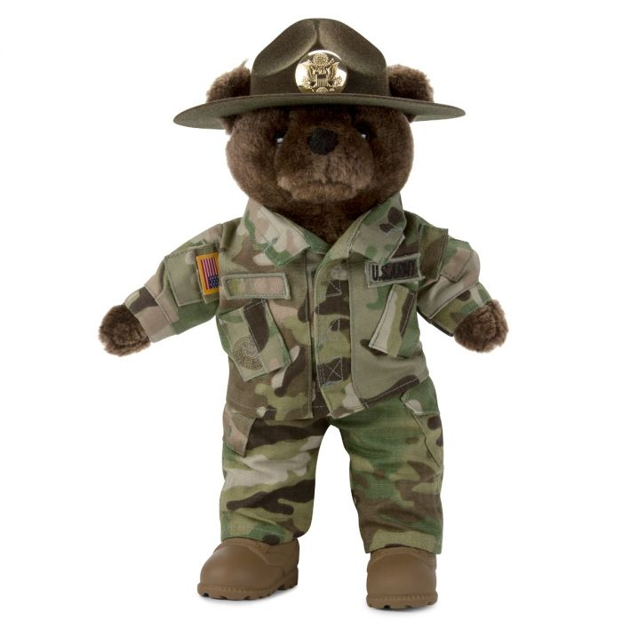 Army Drill Instructor Bear