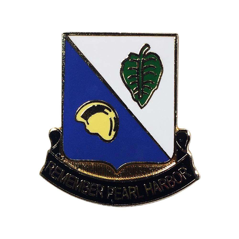 100th Bn Insignia Pin - Original Design