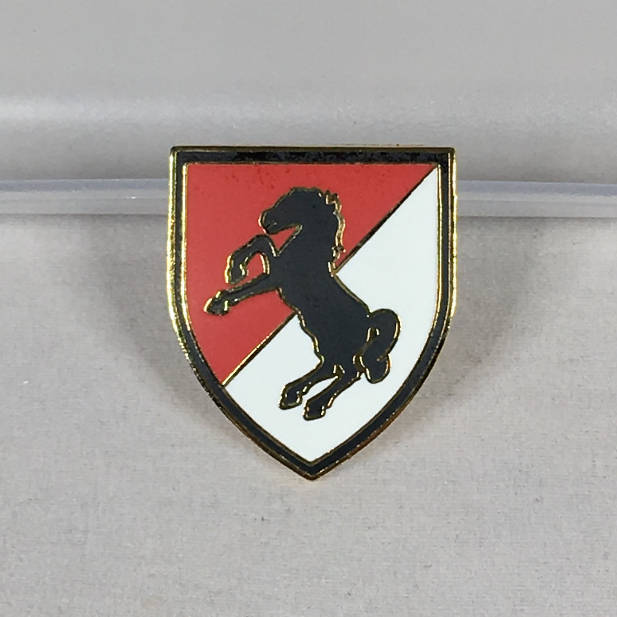 11th Armored Calvary Division Pin