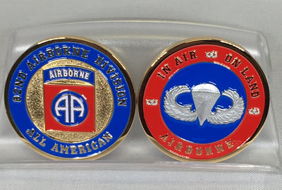 82nd Airborne Division Challenge Coin