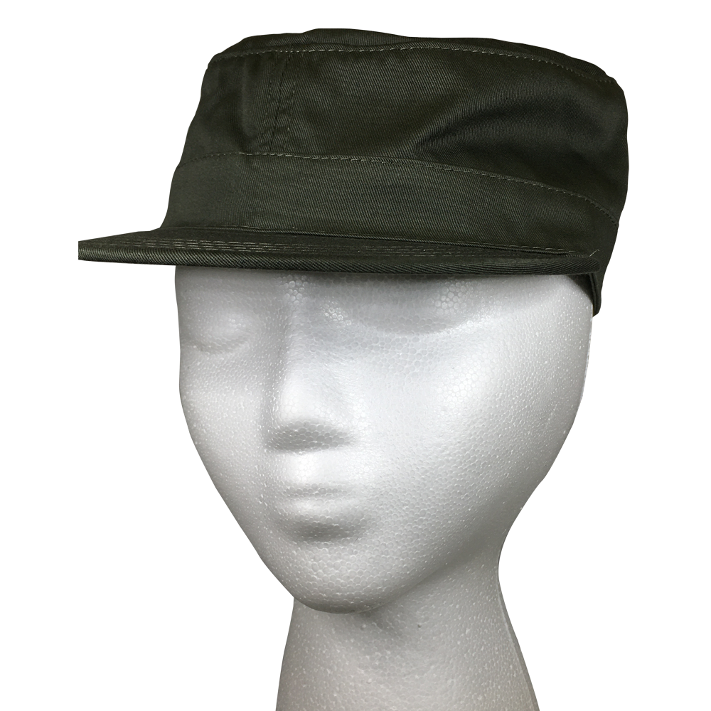 Men's OD Green Fatigue Vintage Cap