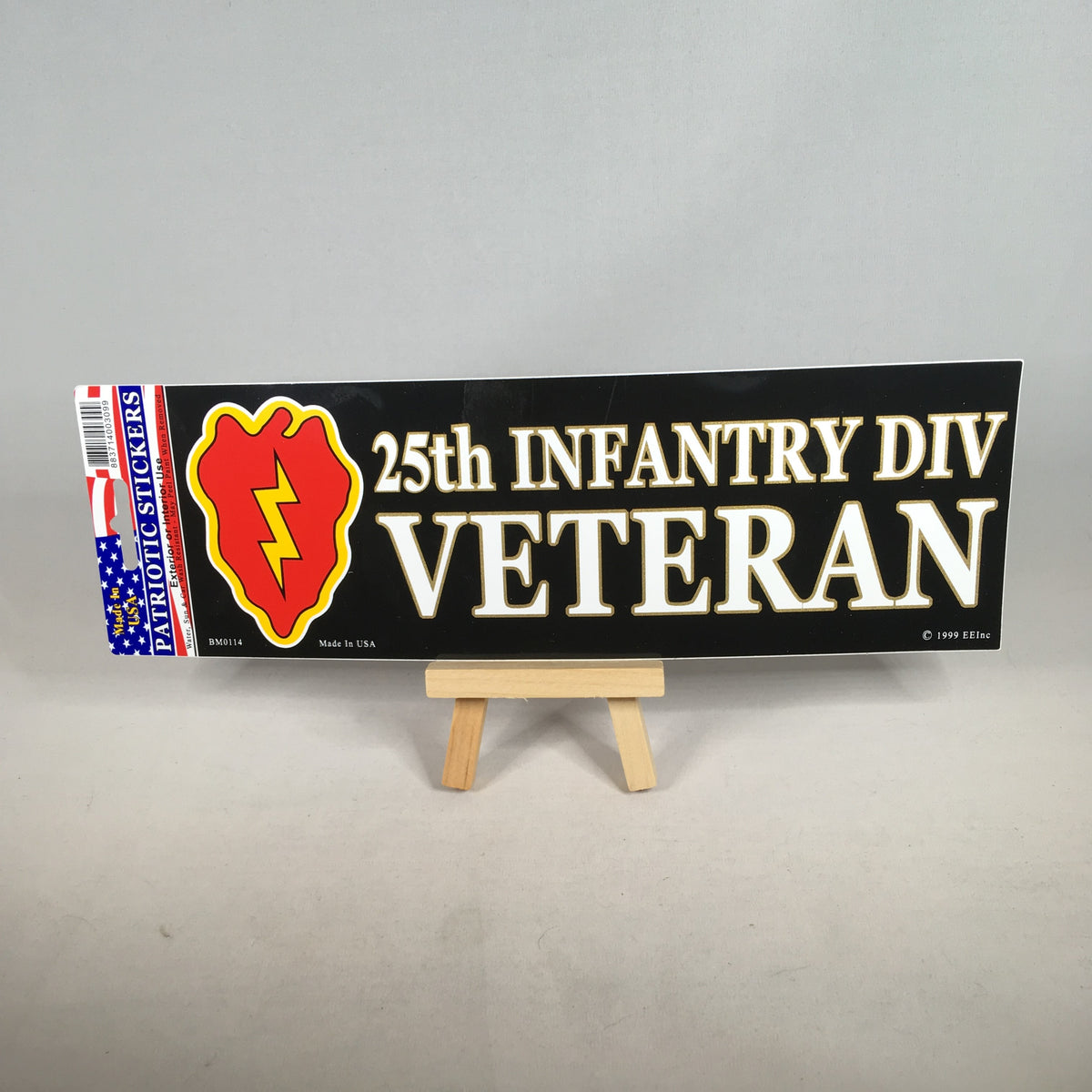 25th Infantry Division Veteran Bumper Sticker