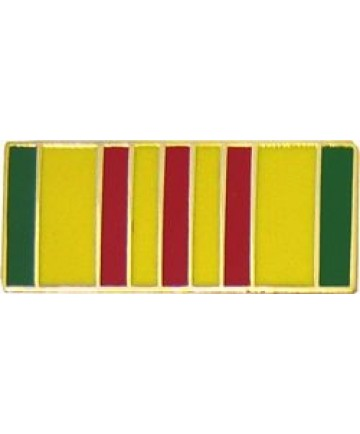 Vietnam Service Ribbon Hat Pin