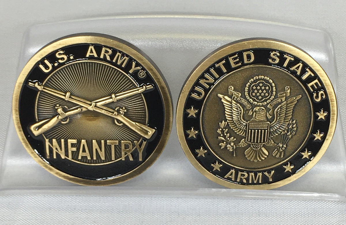US Army Infantry Challenge Coin