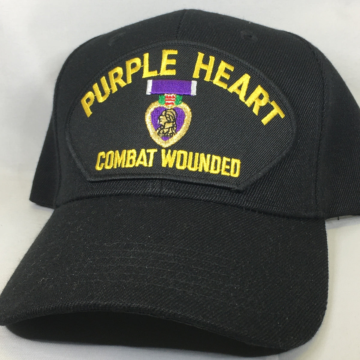 Purple Heart Combat Wounded Cap