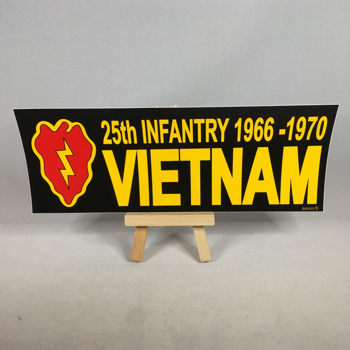 25th Infantry Division Vietnam Bumper Sticker