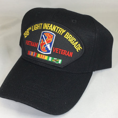 198th Light Infantry Brigade Vietnam Veteran Cap