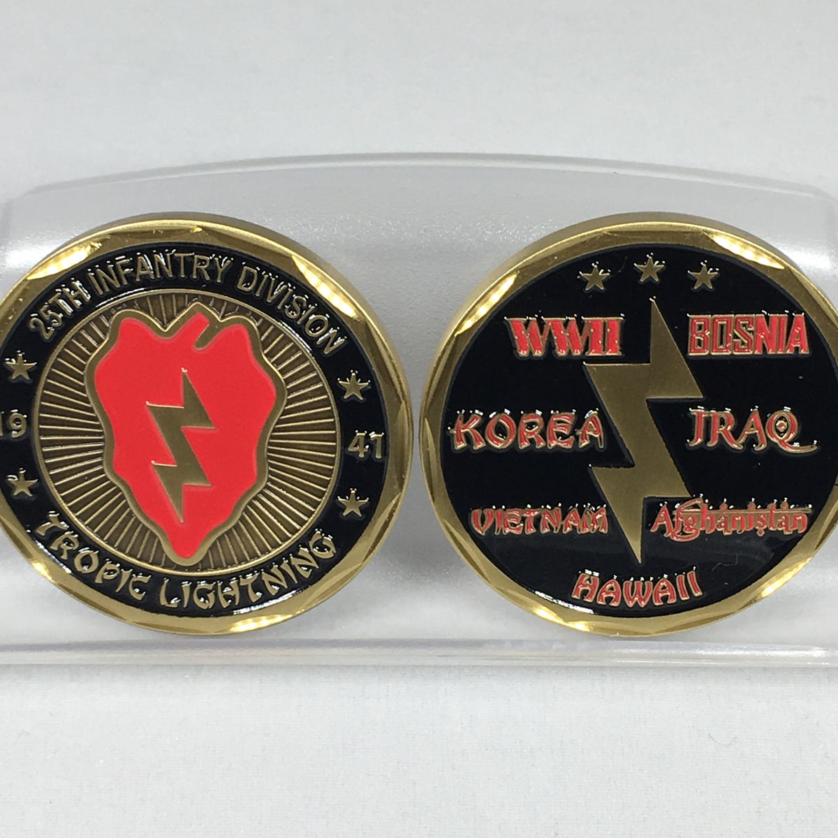 25th Infantry Divisiion Challenge Coin