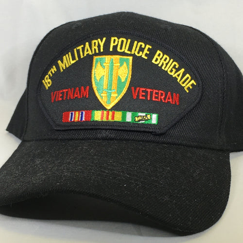 18th Military Police Brigade Vietnam Veteran Cap