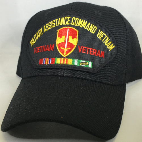Military Assistance Command Vietnam Veteran Cap
