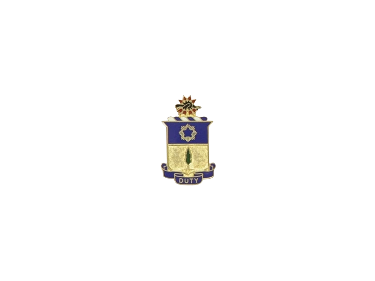 21st Infantry Regiment Cap Crest