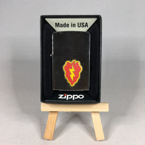 25th Infantry Division Stainless Steel Lighter
