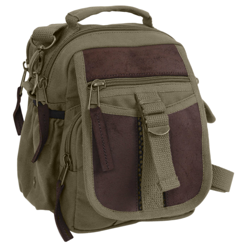 Canvas Travel Bag OD Green