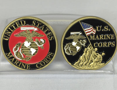 US Marine Corps Challenge Coin