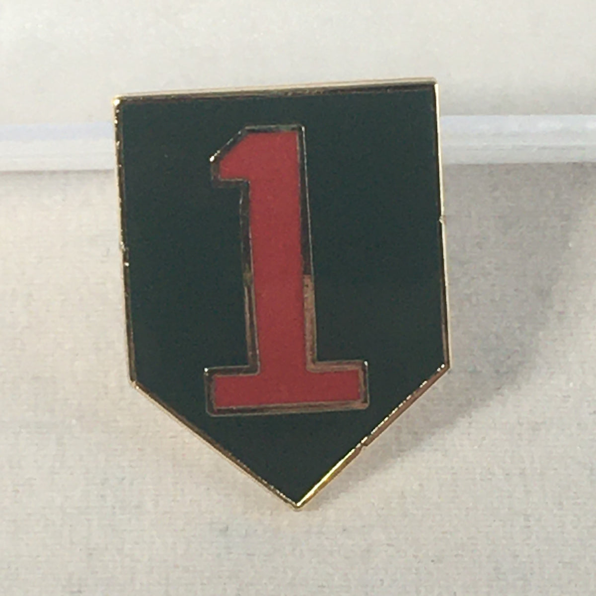 1st Division Pin
