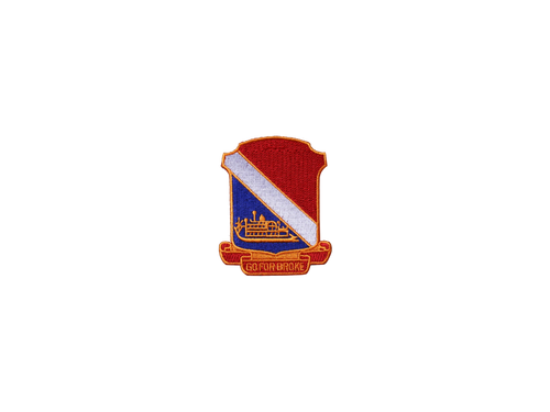 442 RCT Large Jacket Patch (WWII Insignia)