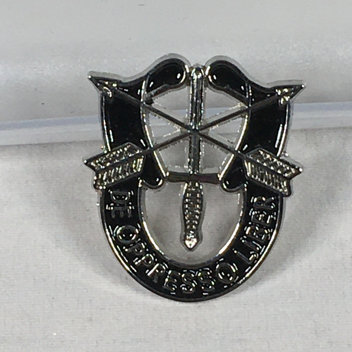 Special Forces Insignia Silver Pin