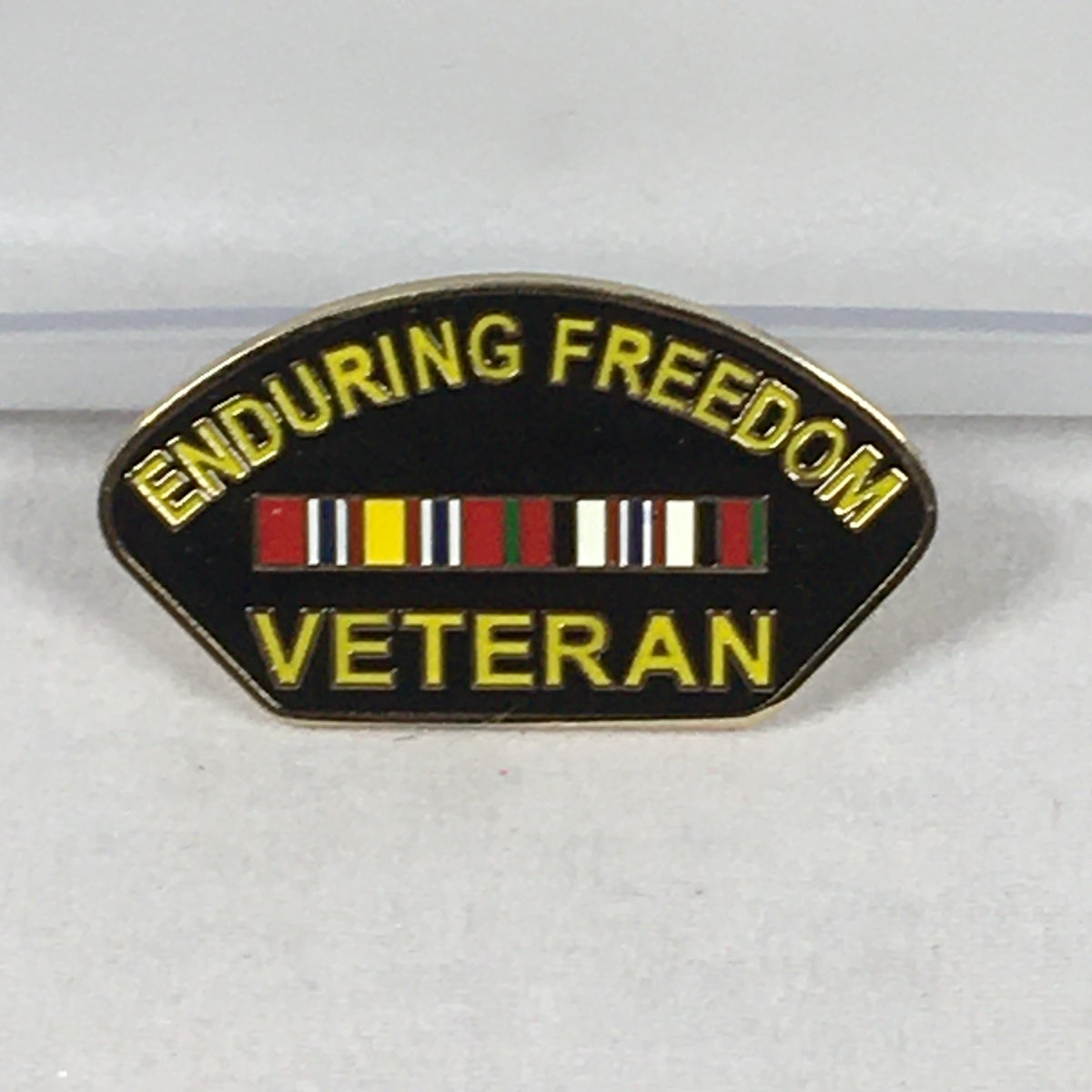 Enduring Freedom Veteran Pin
