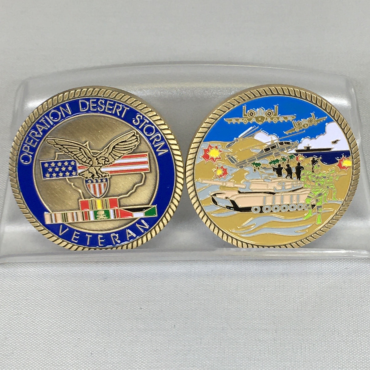 Operation Desert Storm Challenge Coin