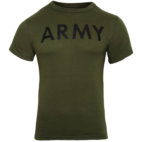 Army OD Green T-Shirt Kids