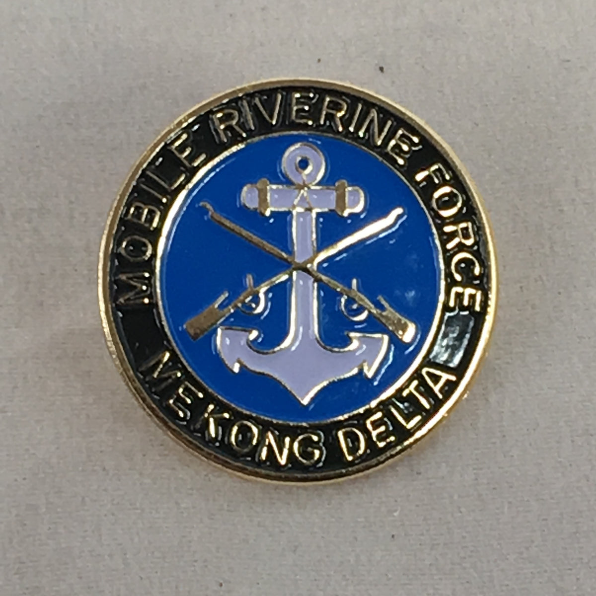 Navy Riverine Force Mekong Delta Pin