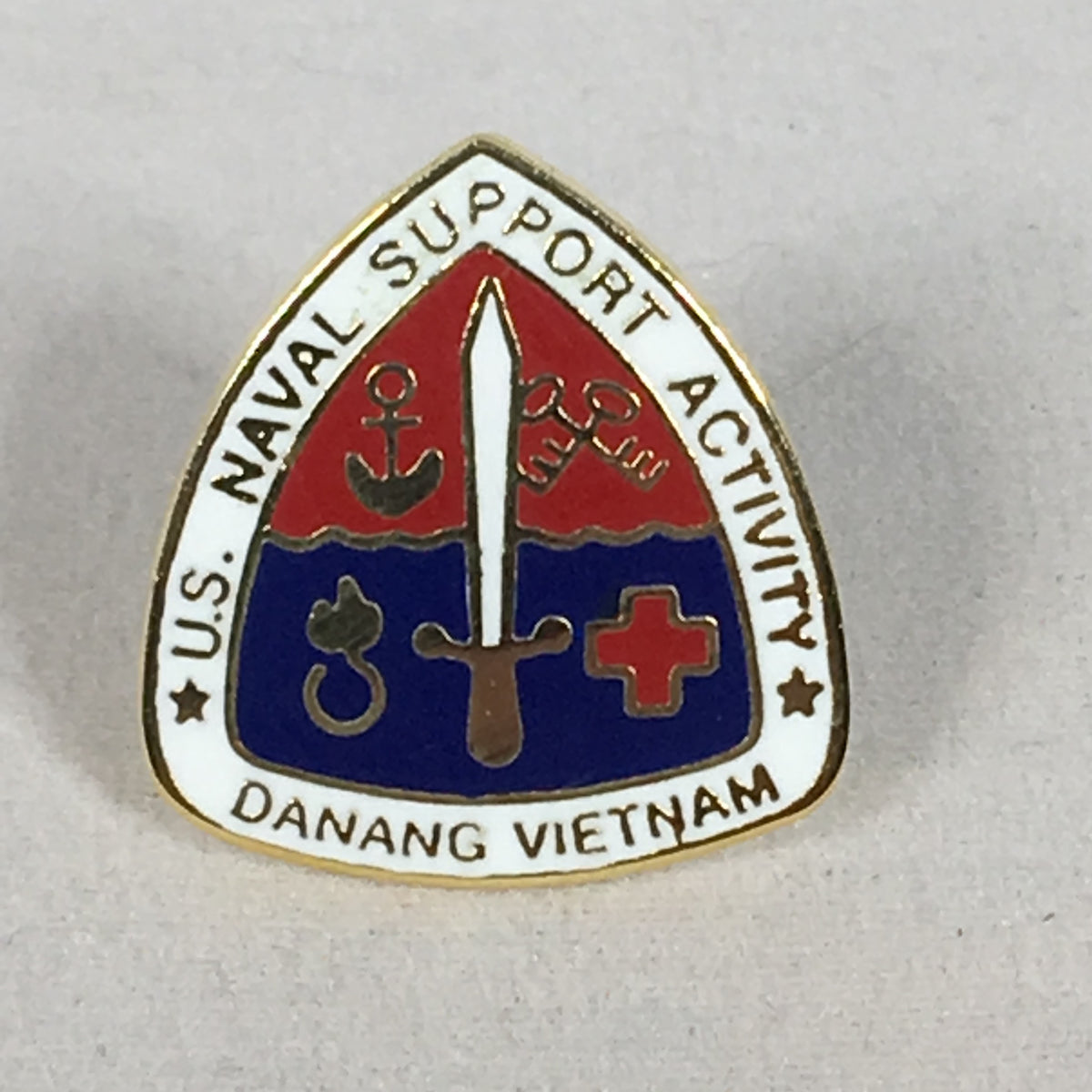 Naval Support Activity Denang Vietnam Pin