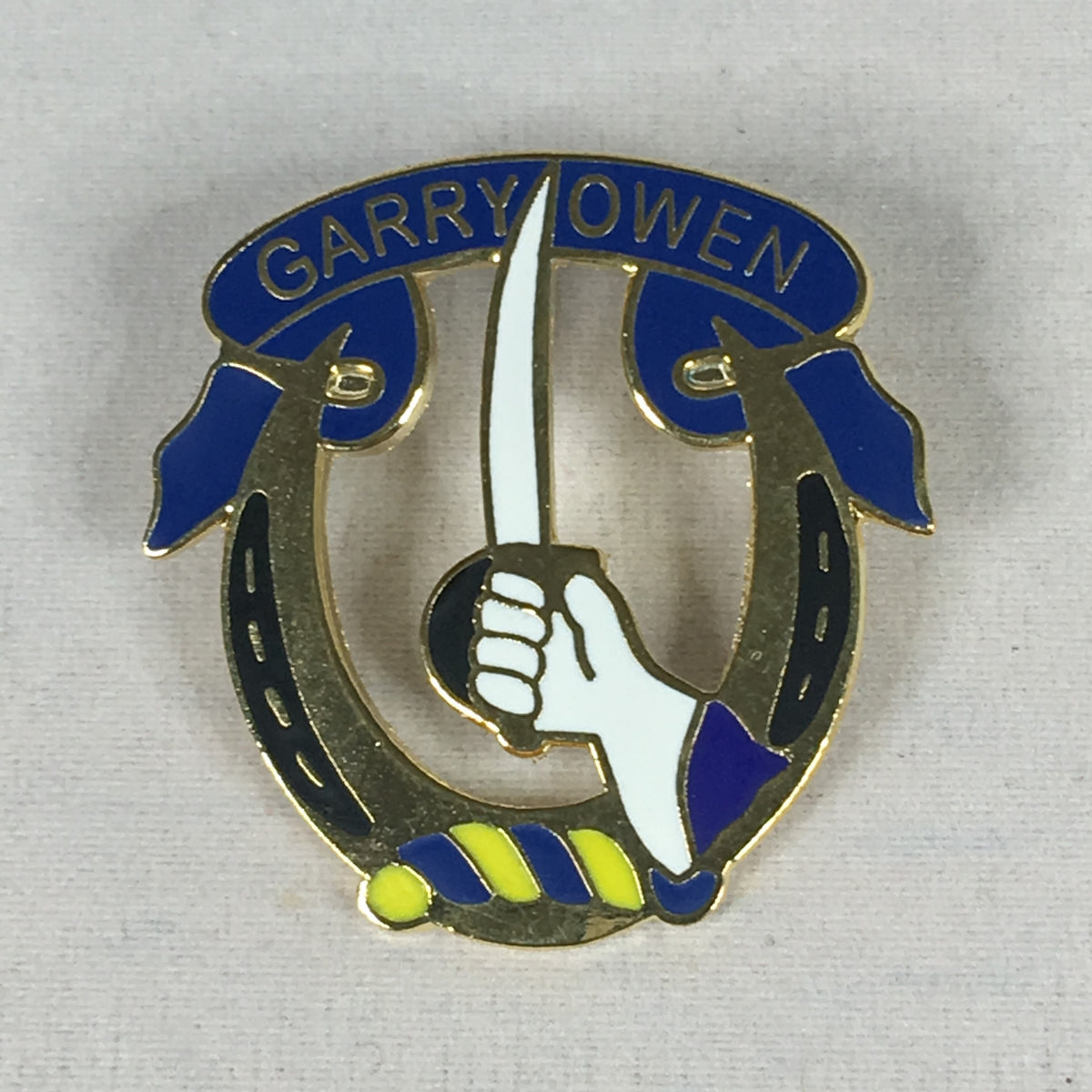 7th Calvary Pin