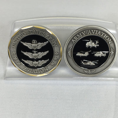 US Army Aviation Challenge Coin