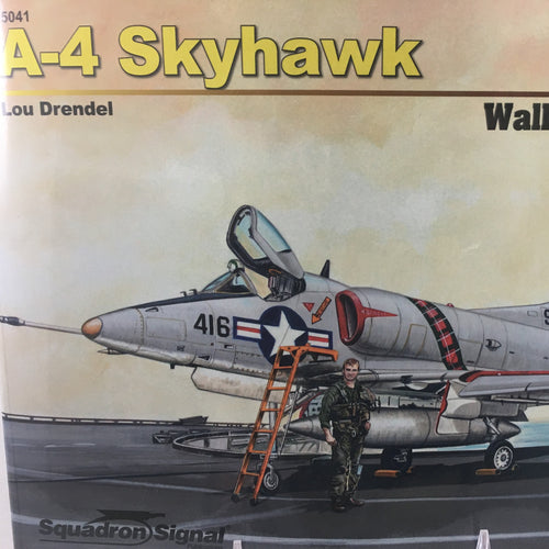 A-4 Skyhawk Airplane Book