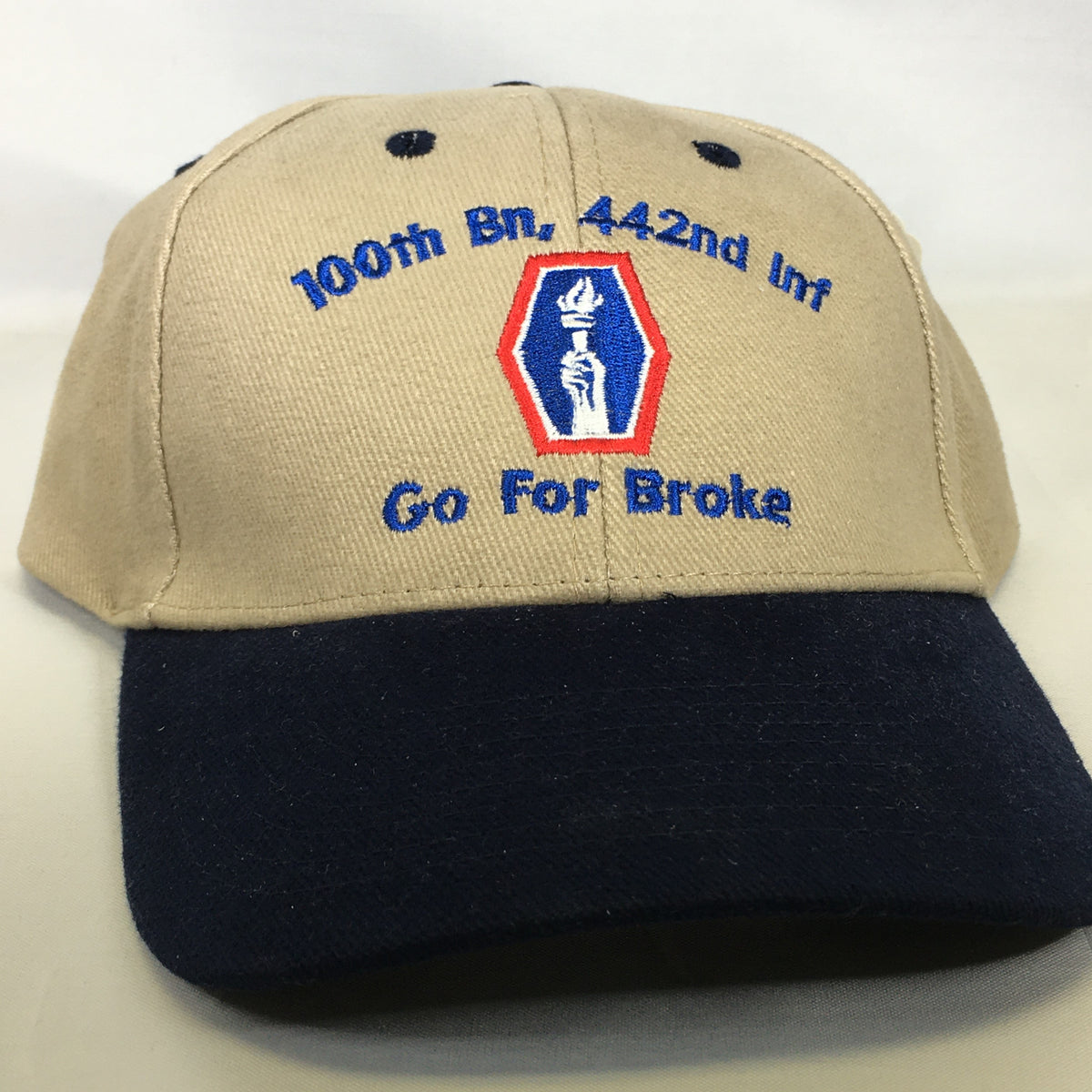 "100th Bn, 442nd Inf Bn ""Go For Broke"" Cap"