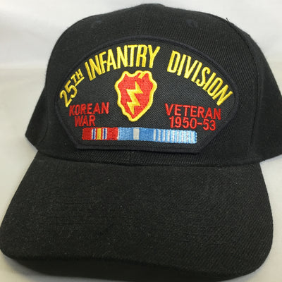 25th Infantry Division Korean War Veteran Cap