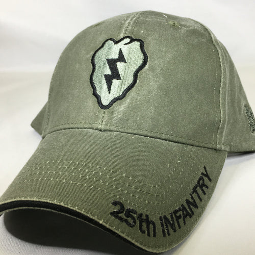 25th ID OD Cap with Subdued Patch