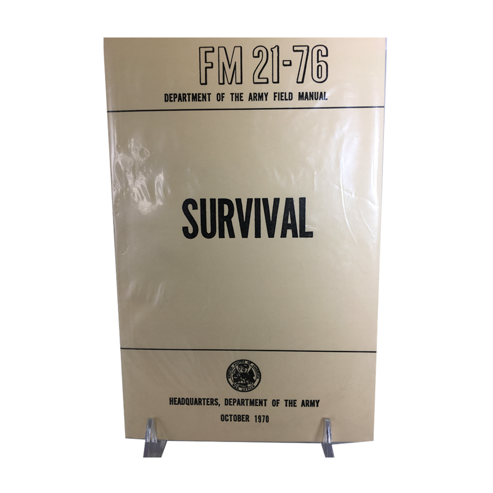 Survival FM 21-76 (Department of the Army Field Manual)