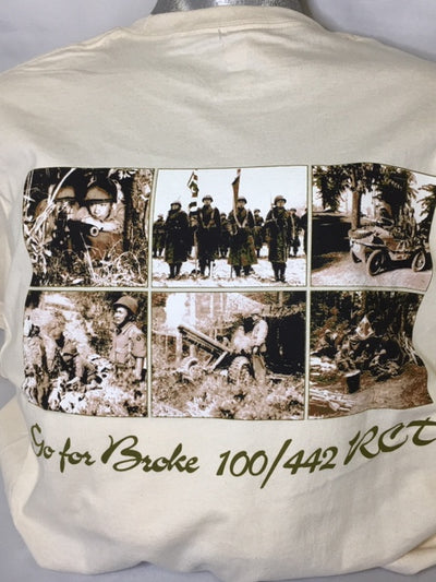 Go for Broke 100/442 Regimental Combat Team T-Shirt