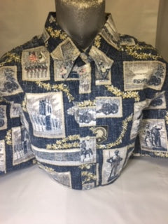 West Point Society of Hawaii Men's Aloha Shirt