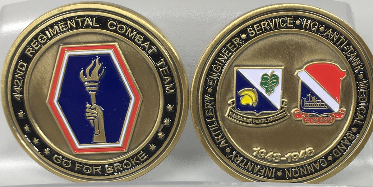 100/442 Challenge/Commemorative Coin