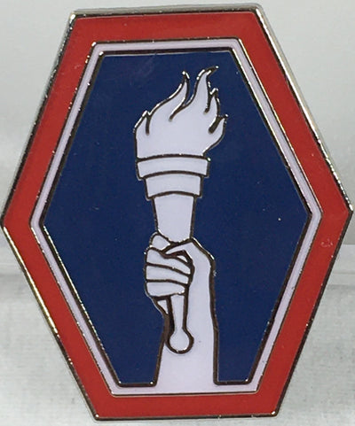 442nd Regimental  Combat Team Torch Pin