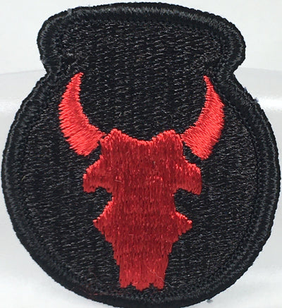 34th Division (100th Bn/Red Bull) Patch