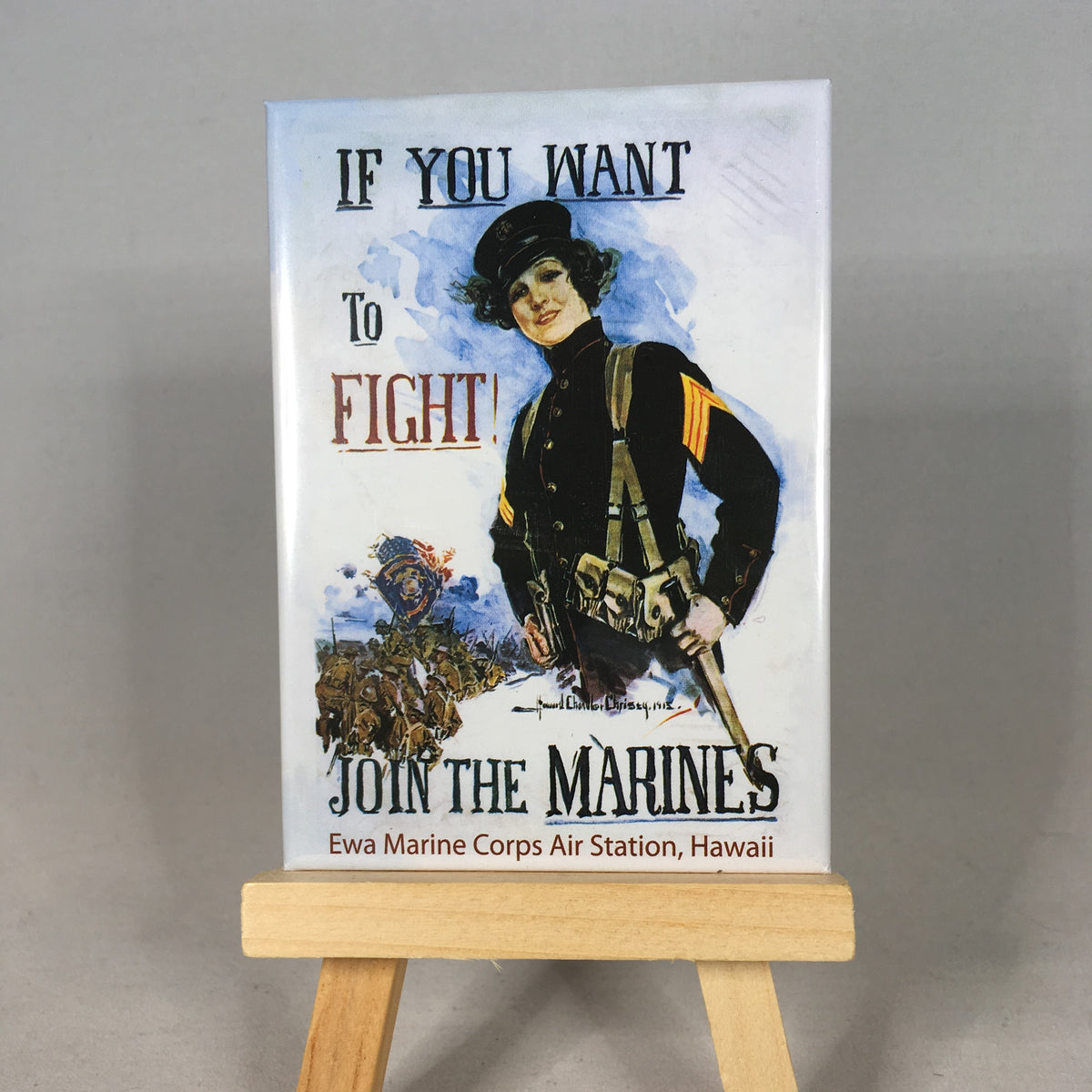 Join the Marines Magnet