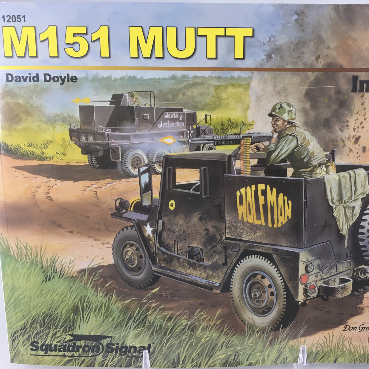 M151 Mutt Vehicle Book