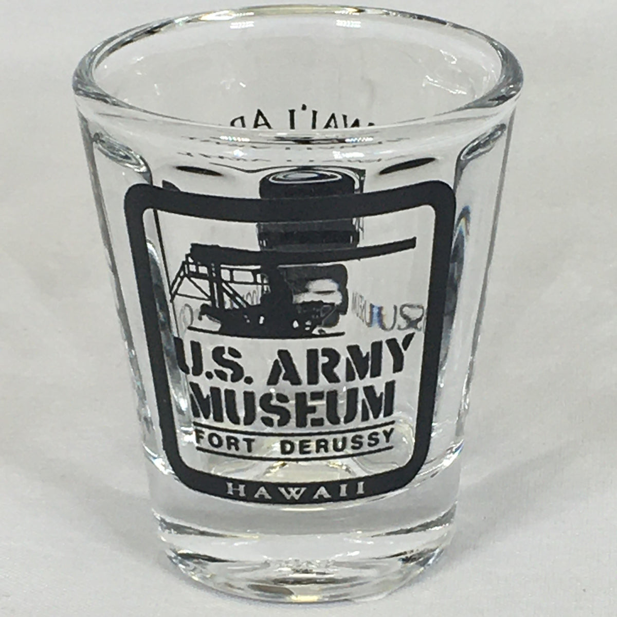 US Army Museum of Hawaii Shot Glass