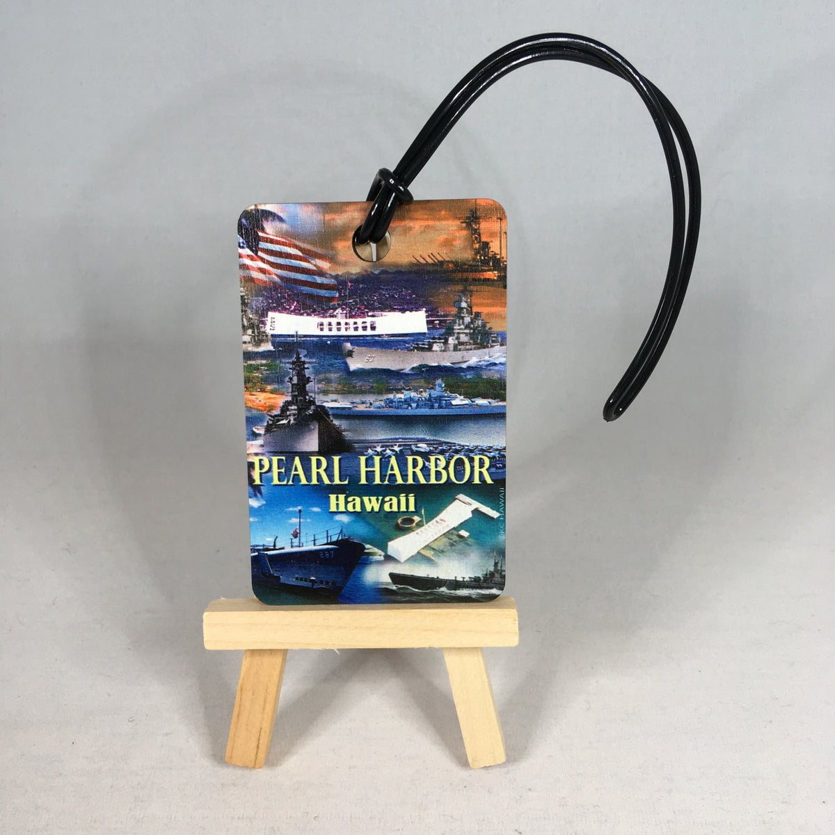 USS Arizona Pearl Harbor Souvenir Luggage Tag