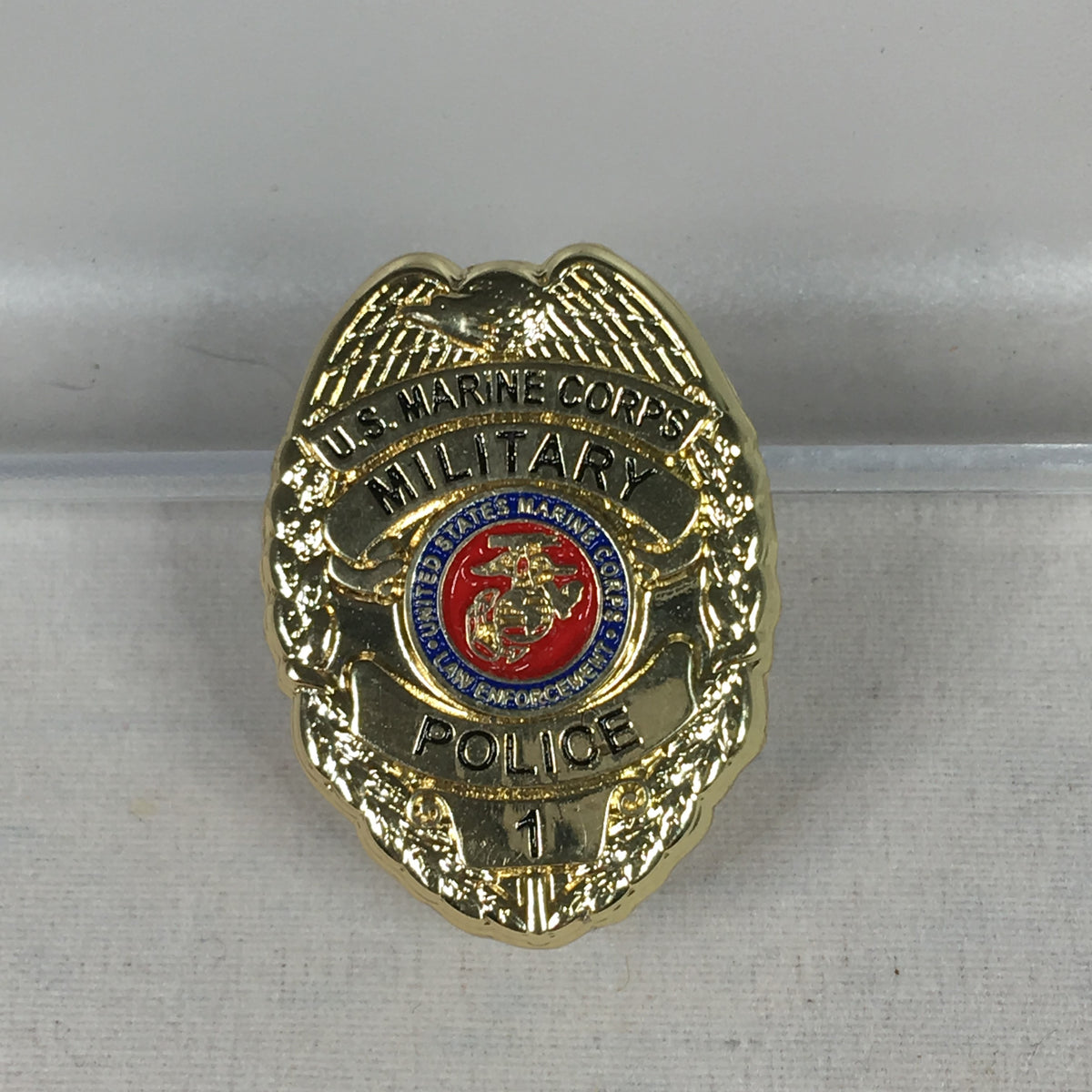 U.S. Marine Corps Police Shield Pin
